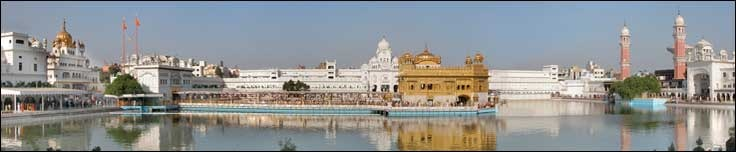 The Golden Temple Amritsar India (Sri Harimandir Sahib Amritsar) is not only a central religious place of the Sikhs, but also a symbol of human brotherhood and equality. Everybody, irrespective of cast, creed or race can seek spiritual solace and religious fulfilment without any hindrance