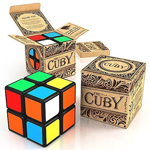 The Cuby - The Best Two-Layer Brain Teaser 2x2 Cube - Perfect For Beginners - Hours of Fun In The Palm Of Your Hand - *** See this great image @