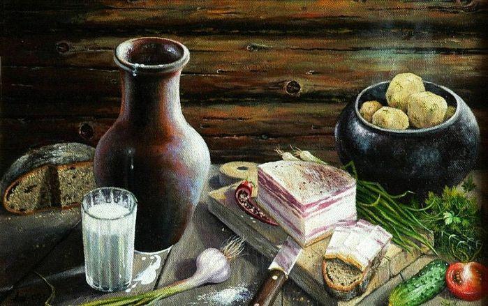 Небольшая подборка живописных работ, объединенных темой «украинского...