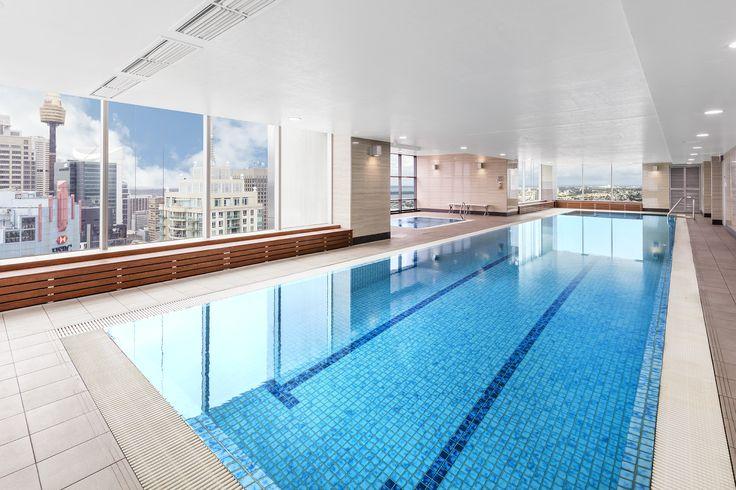 Pool on Level 61 #Sydney #Australia #Luxury #Hotels #HighRise #Meriton