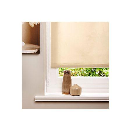 Colours Corded Beige & Cream Roller Blind (L)160cm (W)180cm | Departments | DIY at B&Q