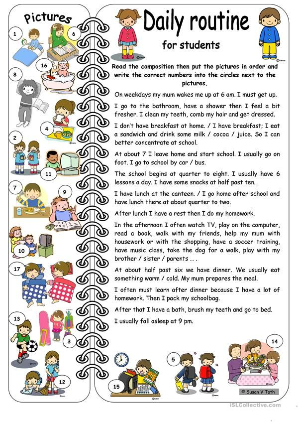 Pin On Tamar Daily Routine Essay In German