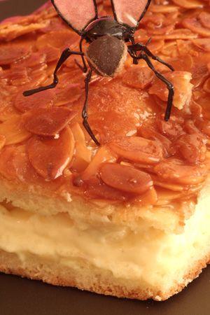 Recette Bienenstich ou nid d'abeille