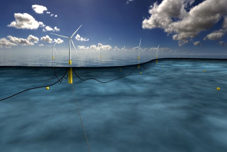 World's first floating wind farm to be built off Scottish coast.