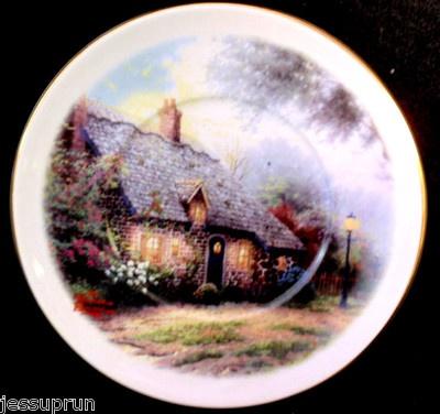 Thomas Kinkade decorative plate & 35 best Thomas Kinkade Plates images on Pinterest | Dishes Thomas ...