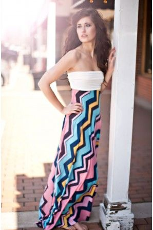Maxi Dress....tons of cute dresses on this site!
