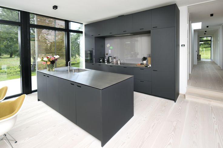 kitchen by shufl desktop 4166 charcoal forbo referansebilder pinterest k kken. Black Bedroom Furniture Sets. Home Design Ideas