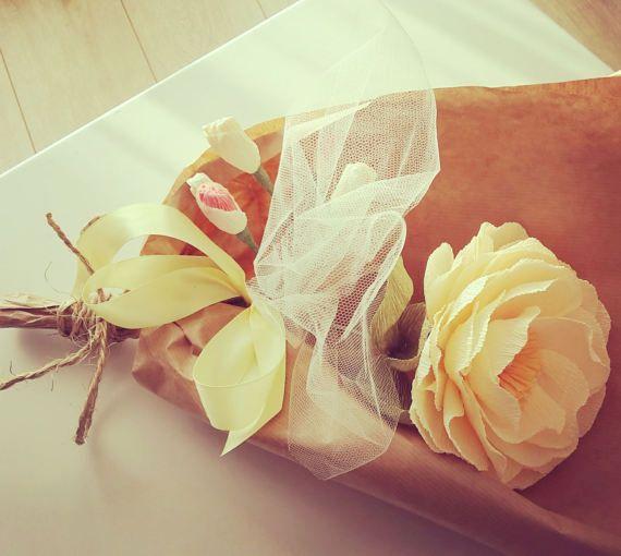Peony RUSTIC bouquet New Style  Peony Bouquet Wedding  Peony