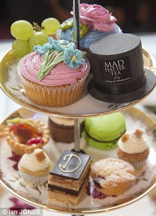 Davenports mad hatter afternoon tea - delicious!