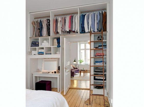 comment am nager votre studio pour gagner de la place ma chambre dressing id e dressing. Black Bedroom Furniture Sets. Home Design Ideas