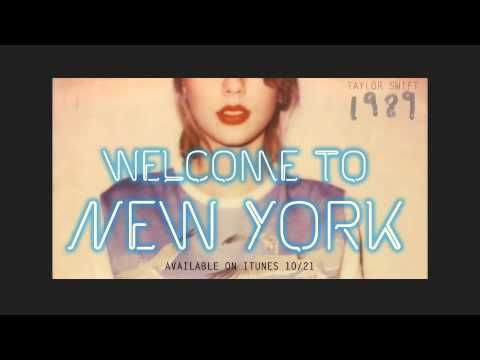 """Listen To A Sneak Peek Of Taylor Swift's New Song """"Welcome To New York"""""""