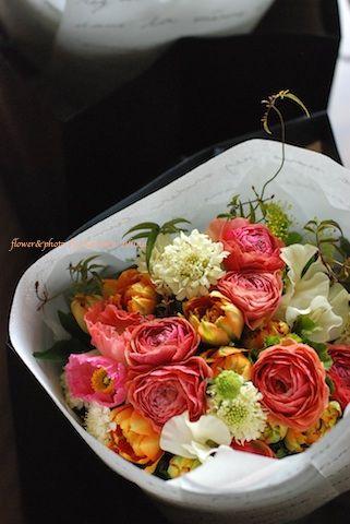 Bouquet Orange(オレンジの花のブーケ)
