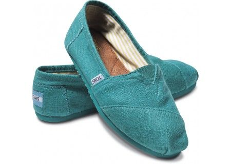 Turqoise Touch with Toms