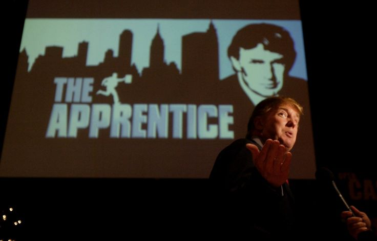 "Every episode of ""The Apprentice"" began with the same artfully filmed and carefully curated images: Donald Trump walking in slow motion from his helicopter and onto his plane; New York City's towering buildings; Trump's name on buildings; piles of cash."