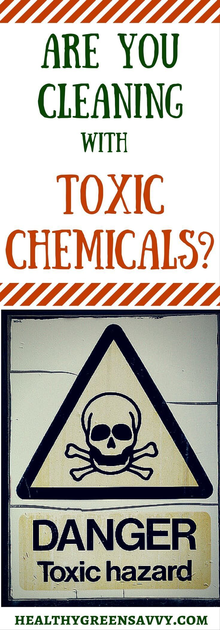 Most commercial cleaners are filled with chemicals that haven't been tested for safety. Here's what you need to know to protect you and your family. Bonus: Free guide to keeping toxics out of your house, which is harder than you think. Click to read more or repin to save for later.