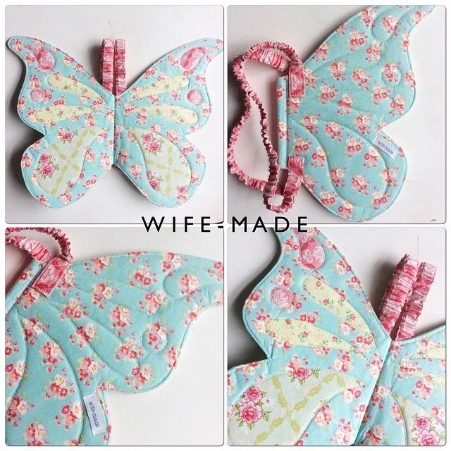 SnapWidget | { MARKET SPECIAL! } Wife-made Butterfly Wings Size: 3 and up (elasticised straps allow for stretch) $60 plus post (Normally $69 plus post) To purchase, comment SOLD and message me with PayPal details immediately. #wifemade #butterflywings #handmade #handmadeinaustralia #craftsposure