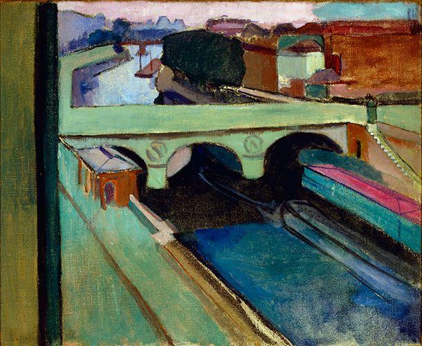 Henri Matisse / Pont Saint-Michel / ca. 1901 / Oil on canvas