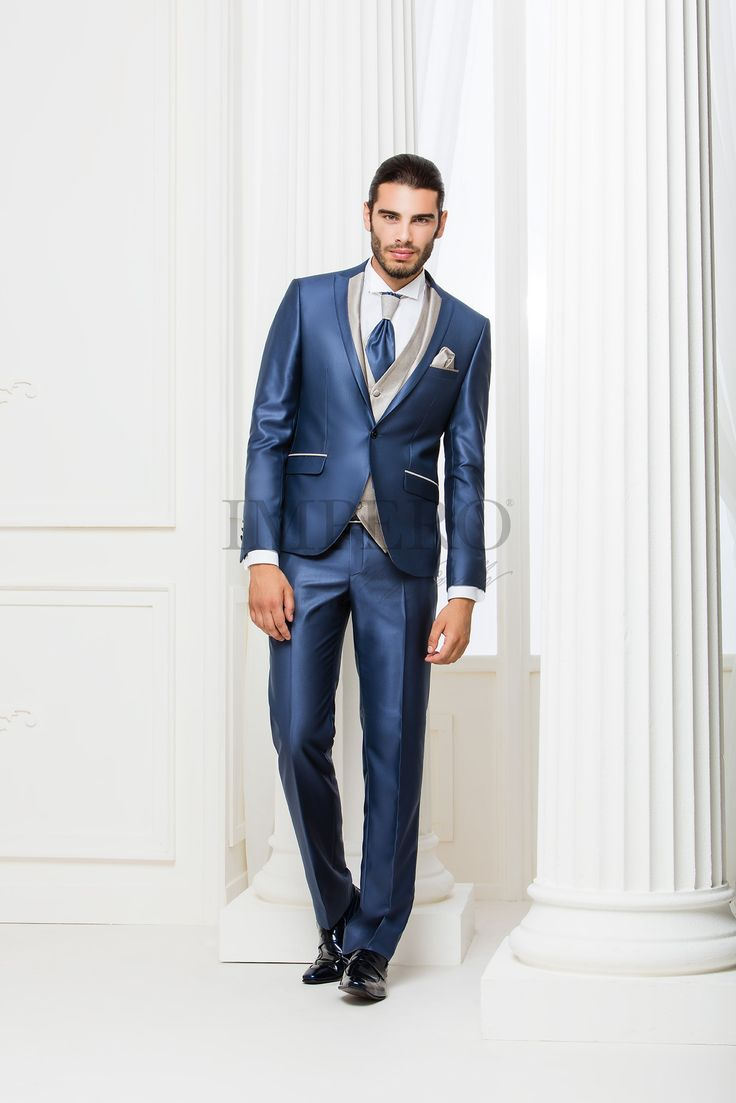 NO 4207SL1-16 #sposo #groom #suit #abito #wedding #matrimonio #nozze #blu #blue