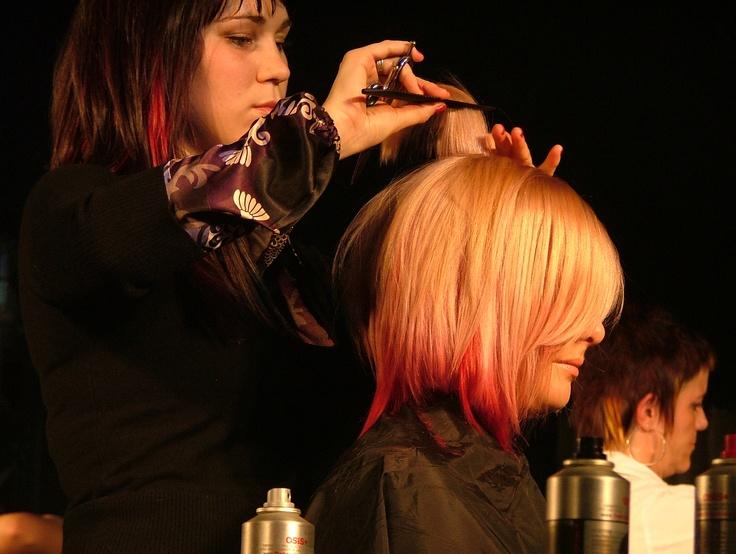 Annie, concours de coloration et coupe 2008