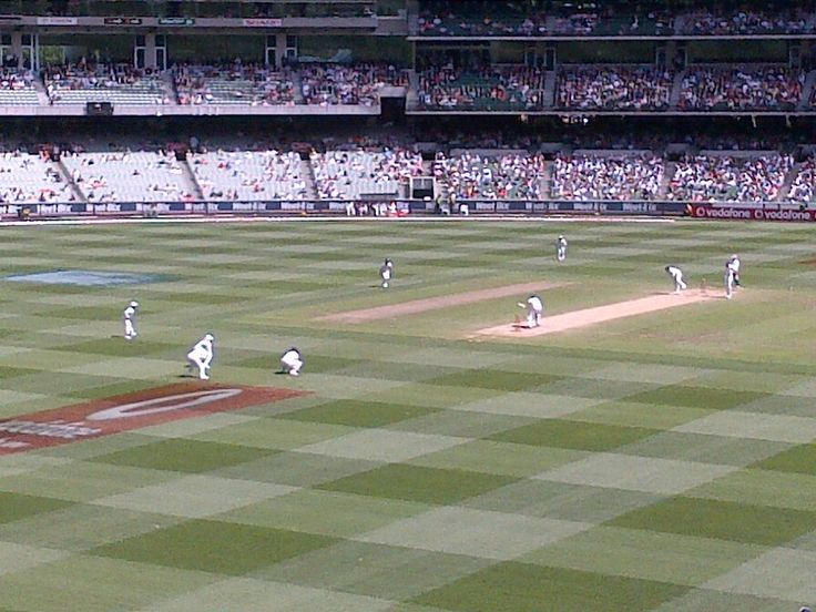 Boxing day test match at MCG '10