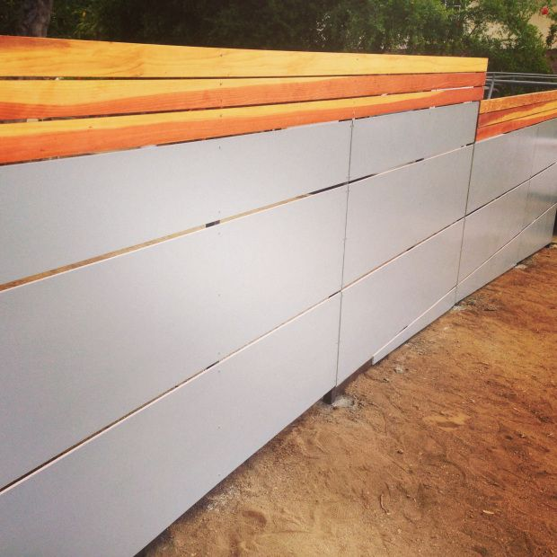 29 best Modern Fence images on Pinterest | Landscaping, Fence and ...
