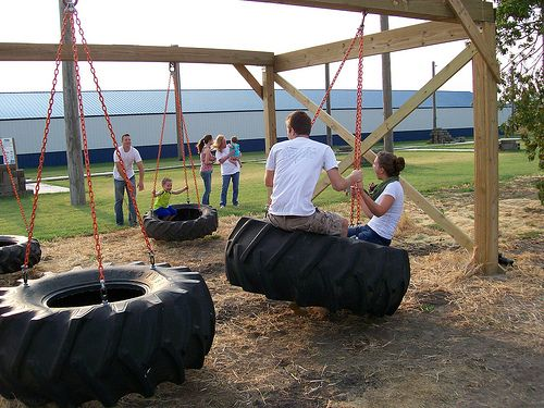 25 best ideas about tractor tire on pinterest tractor for Tyre swing ideas