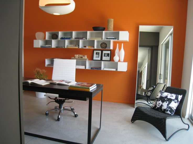 Orange Office Google Search Office Pinterest Oficinas Interiors Inside Ideas Interiors design about Everything [magnanprojects.com]