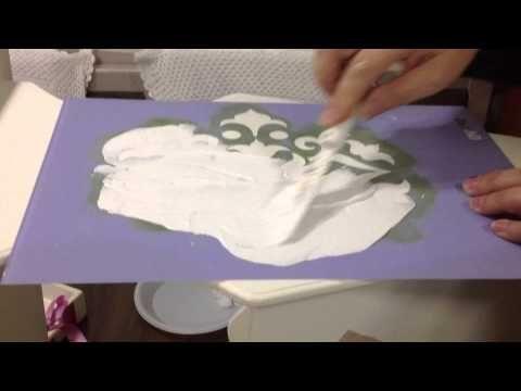 Meral Sanatevi - Craft House - Handmade - pasta rölyef çalışması - YouTube