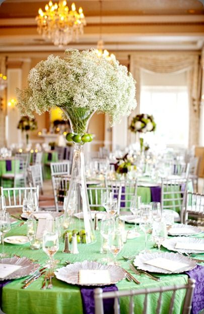 lime green and purple wedding decorations 1000 images about baby s breath wedding on 5550