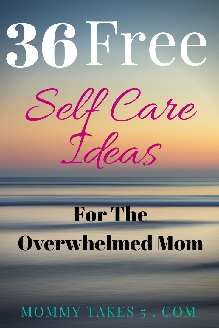 Being a mom can be overwhelming, here is a list of 36 FREE Self care ideas as well as a few bonus low budget self care ideas.