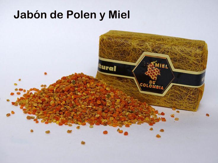Jabón de Polen y Miel. 80 gramos. Fórmula original, jabones a base de miel y polen. Equilibra y perfuma la piel con aroma natural de polen y miel. colores naturales sin pigmentos y sin conservantes. sin grasa animal. es especialmente beneficioso en pieles acnéicas, debido a su contenido en caroteno que el organismo transforma en vitamina A. En su composición destacan además las vitaminas B, C, D, E y K minerales y aminoácidos.  3012020777 - 3117402833