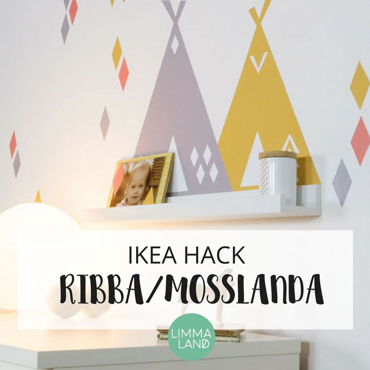 59 best ikea hack mosslanda bilderleiste ribba for Kinderzimmer hacks