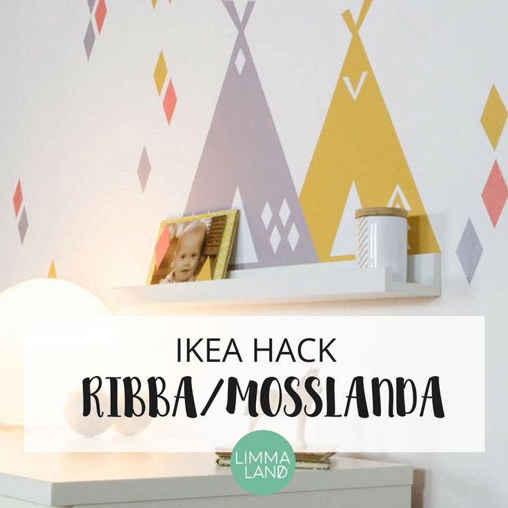 57 best ikea hack ribba mosslanda bilderleiste images. Black Bedroom Furniture Sets. Home Design Ideas