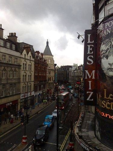 The west end-Theater district in London, would love to go live here!