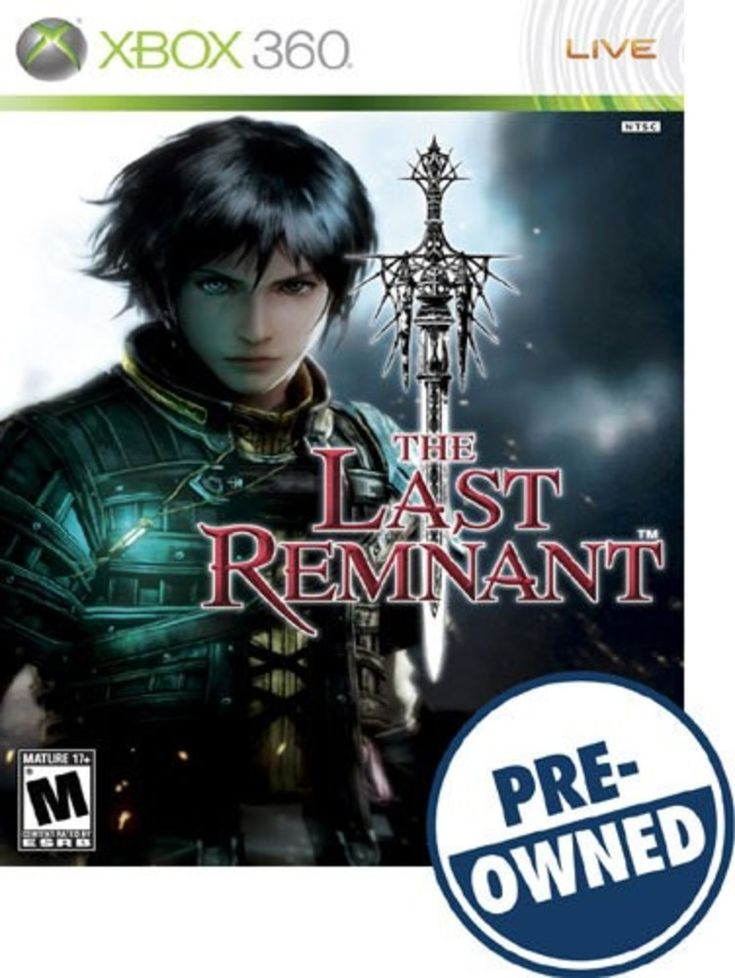 The Last Remnant — PRE-Owned - Xbox 360, 662248908144
