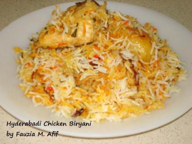 Hyderabadi Chicken Biryani   Fauzias Kitchen Fun   Rice ...