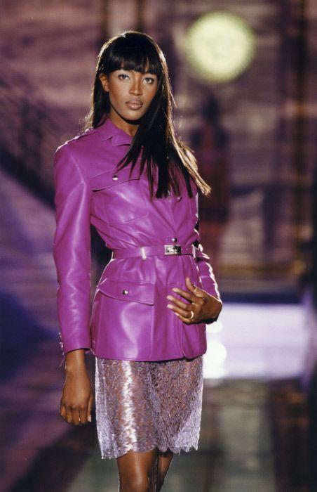 atelier versace spring summer 1996 paris naomi campbell