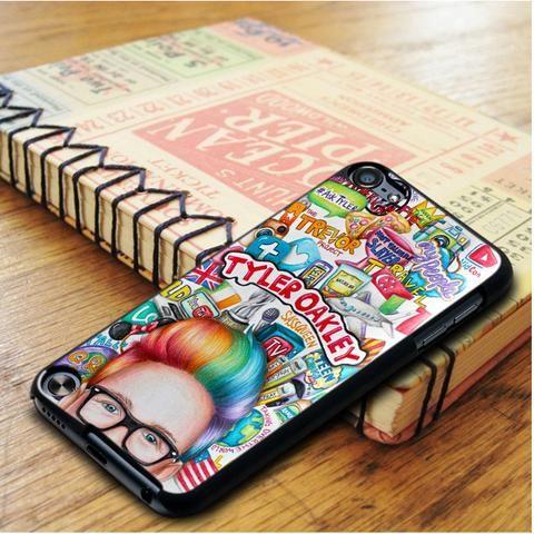 Tyler Oakley Art Qoute iPod 5 Touch Case
