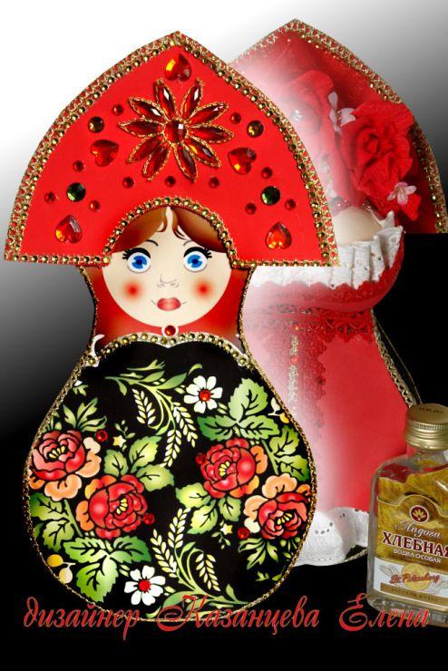(1) Gallery.ru / Фото #62 - упаковка и оформление бутылочек - kazantceva