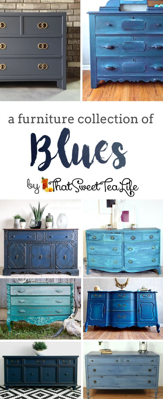 A collection of some of the absolute BEST Blue Painted Furniture pieces I could put together for you!