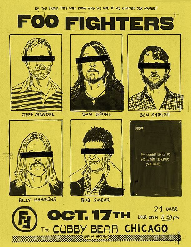31 best Foo Fighters images on Pinterest | Concert posters, Gig ...