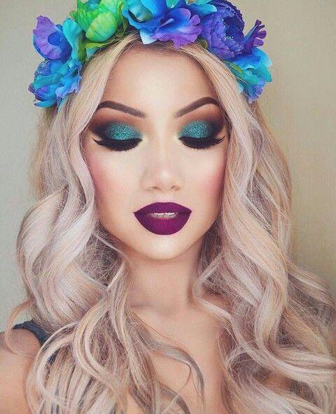 Imagem de makeup, beauty, and hair