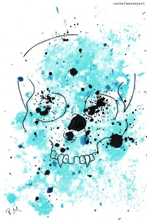 Inktober #20 | Skull