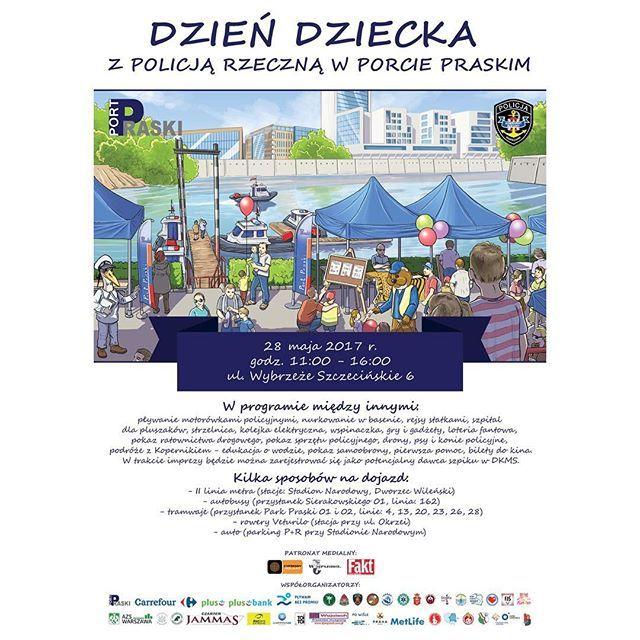 #portpraski #dzieńdziecka #warszawa #policjarzeczna #piknik #zabawa #gry #gadżety #motorówka #nurkowanie