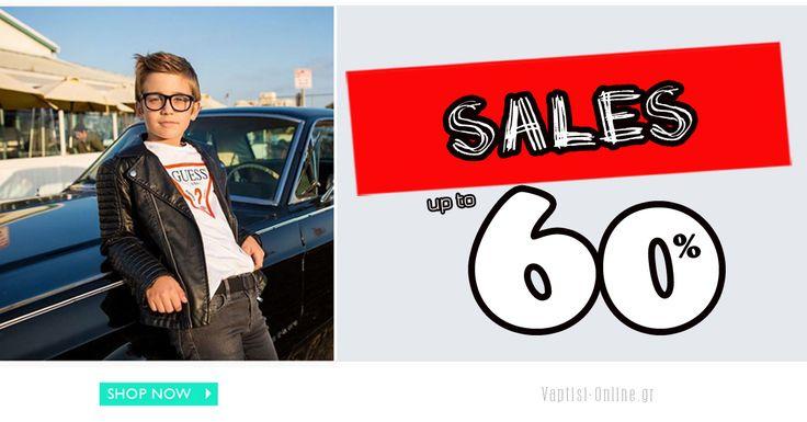 Πραγματικές Εκπτώσεις έως 60% !!! Προλάβετε την ευκαιρία τώρα εδώ:  www.vaptisi-online.gr