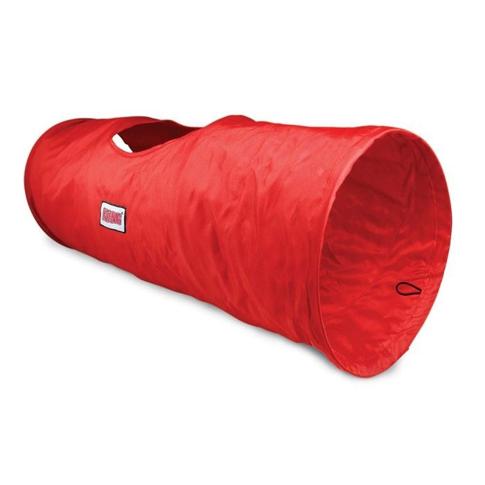 KONG PLAY TUNNEL FOR CATS - Stretch out the KONG Cat Tunnel to give your cat a personal space to play!