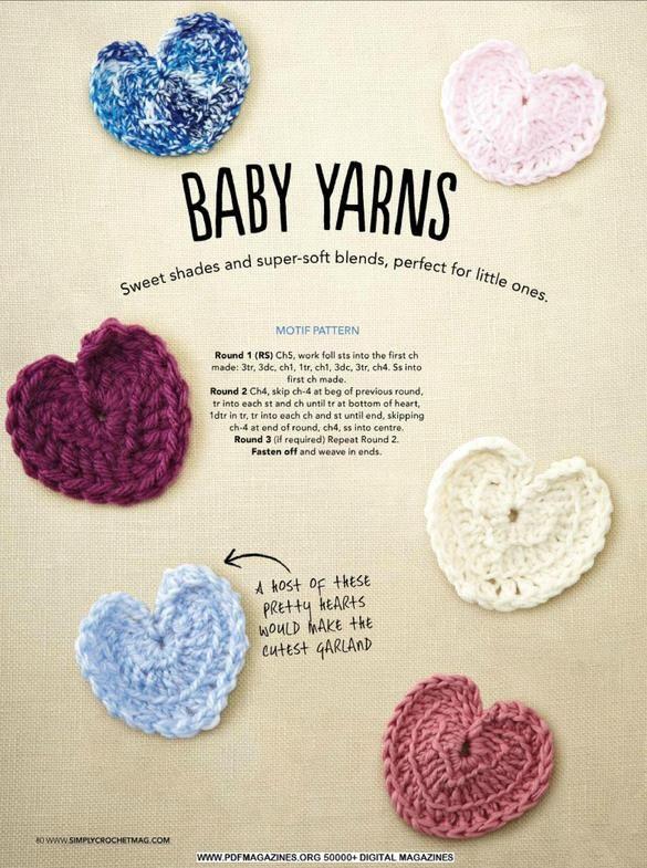 Mejores 62 imágenes de crochet en Pinterest | Punto de crochet ...