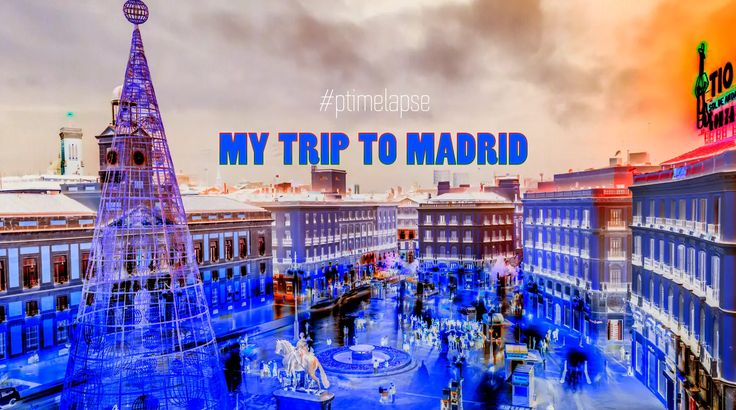 VIDEO #Timelapse - My Trip To #Madrid  http://buff.ly/2rQ9sZI?utm_content=buffer8a1fe&utm_medium=social&utm_source=pinterest.com&utm_campaign=buffer