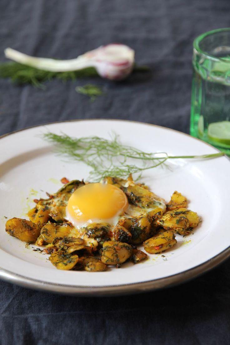 Baghali Gatogh - persische Dicke Bohnen mit Dill und Eier <3 Labsalliebe