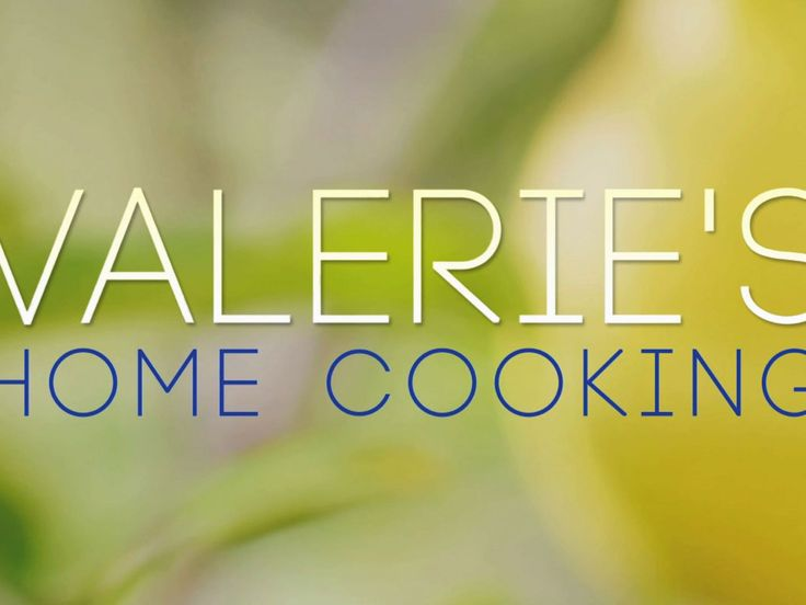 Get full episodes, clips, and recipes from Valerie's Home Cooking from Food Network.